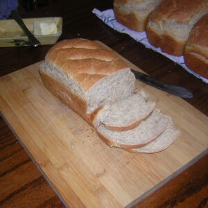 Four Loaves of Flax Seed Bread