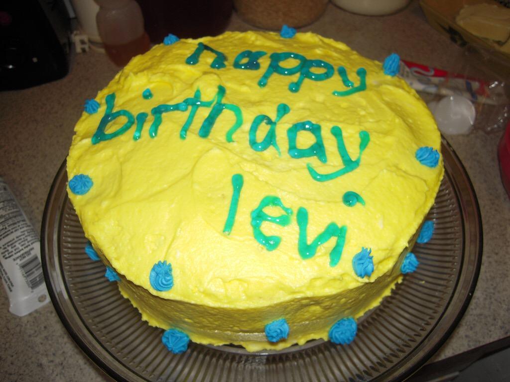 Levi's 4th Birthday Party