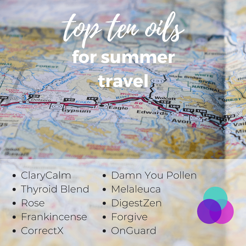 Must Have​ Oils for Travel