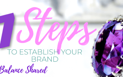Establish Your Brand in 7 Steps