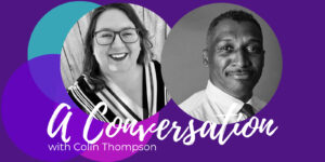 image of Michelle Lasley and Colin Thompson podcast cover
