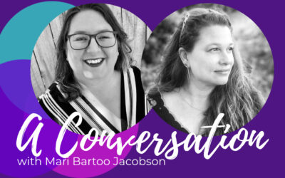 Coming into her own, a discussion with Mari Bartoo Jacobson