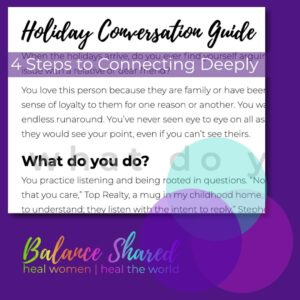 Fragment of Holiday Conversation Guide