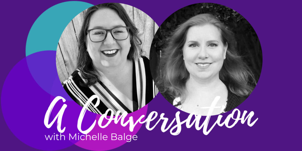 Michelle Lasley and Michelle Balge Balance Shared podcast