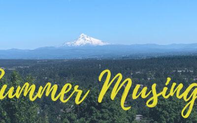 Summer Musings