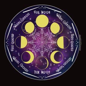 Moon Sticker